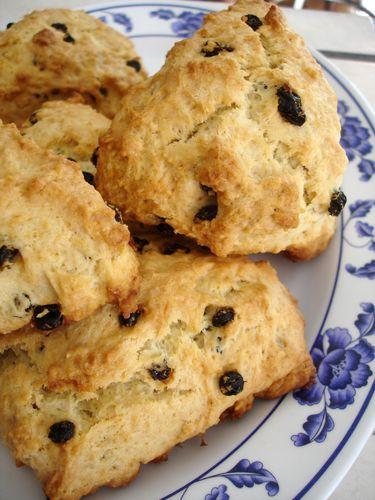 ... Way Through Baking Illustrated, Recipe #2: Cream Scones with Currants