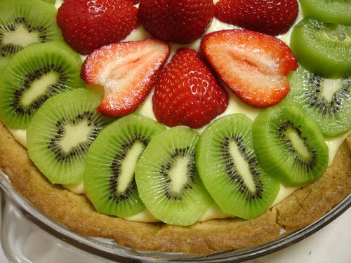 Fresh Fruit Tart with Pastry Cream from Baking Illustrated